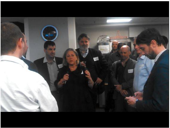 Mary Landrieu Speaks at Cambridge Innovation Center Venture Cafe