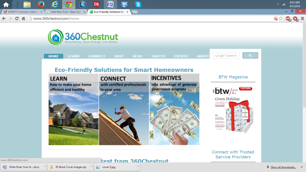 360 Chestnut homepage